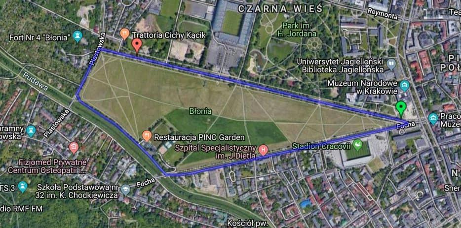 bieganie Kraków