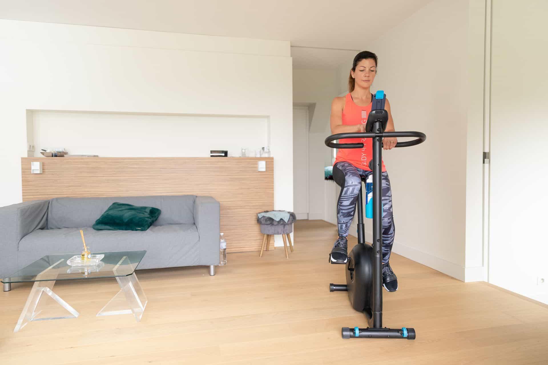 Ile mozna schudnąć jeżdżąc na rowerze stacjonarnym